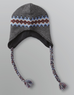 Outdoor Life Men's Fair Isle Knit Winter Trapper Hat