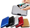 Aluminum RFID Blocking Credit Card Wallet Case