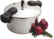 Basic Essentials 5 qt. Aluminum Pressure Cooker