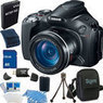 Canon PowerShot SX40 HS 12.1MP 35x Zoom Camera Bundle