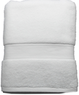 Style Selections 52-in x 30-in White Cotton Bath Towel