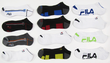 Mens Fila Low Cut Dry Fit Socks: 12-Pack