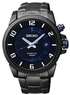 Seiko SKA555 Kinetic Black Dial Stainless Steel Mens Watch