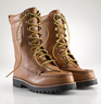 Wexham Burnished Leather Boots