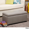 Warehouse Tiffany Ariel Faux Leather Storage Bench