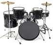 Complete Adult 5-Piece Drum Set w/ Cymbals