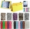 iPad Mini Magnetic PU Leather Folio Stand Case w/ Cover