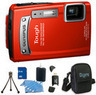 Olympus Tough TG-320 14MP Waterproof Camera Bundle