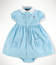 Baby Girls' Layette Solid Oxford Shirtdress