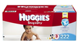 Huggies Snug & Dry Economy Plus Case