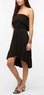 Ecote Women's Strapless Ruffled Mini Dress