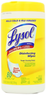 80-count Lysol Disinfecting Wipes, Lemon & Lime Scent