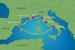 Weeklong Italy & France Cruise in Summer