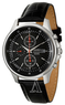 Seiko Men's Chronograph Watch w/ Leather Strap