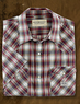 Denim & Supply Men's Short-Sleeve Western Plaid Shirt