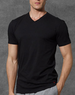 3-pack of Ralph Lauren Men's Slim Fit Cotton V-Neck T-Shirt