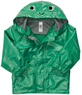 Boys' Hooded Frog Rain Jacket
