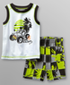 WonderKids Boy's Dare Devil Tank Top & Shorts