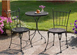 Montego Bay 3-Piece Bistro Style Iron Outdoor Patio Set