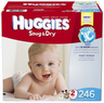 Huggies Snug & Dry Diapers in Sizes 1 - 6