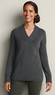 Women's V-Neck Sweatshirt Sweater
