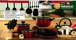 Kitchen Gourmet 20 Pc Professional Cookware Set