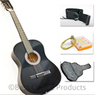 Beginners Acoustic Guitar w/ Case, Strap, Tuner & Pick