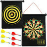 Trademark Magnetic Roll-up Dart Board and Bullseye Game