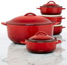 Le Creuset Legumier Pot & Serving 5 Piece Dish Set