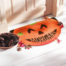 Personalized Half-Round Halloween Pumpkin Doormat