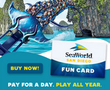 SeaWorld - Pay for 1 Day, Play All Year