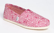 TOMS Women's Classic Circle Slip-On Shoes