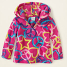 Baby Girls' Peace Print Fleece Pullover Hoodie