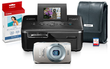 PowerShot ELPH 500 Digital Camera & Printer Bundle (Refurb)