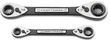 2-piece Craftsman 4-in-1 Universal Ratcheting Box Wrench Set
