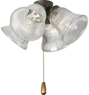 Progress Lighting AirPro Antique Bronze Ceiling Fan Light