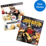 PS3 2 for $30 Value Game Bundle