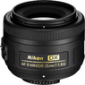 Nikon 35mm f/1.8G AF-S DX Nikkor Lens (Refurbished)