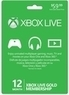 Microsoft Xbox Live 12-Month Gold Card