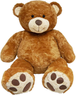 Valentine Sitting Honey Brown Bear