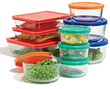 Pyrex 20-pc. Storage Set with Color Lids