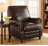 Better Homes and Gardens Nailhead Leather Recliner