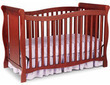 Delta Children's Products Brookside 4-in-1 Fixed-Side Crib