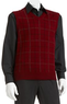 Dockers Windowpane Sweater Vest