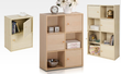 Furinno 2-Door w/ Handles 2-Tier Bookcase