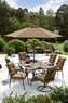 Garden Oasis Emery 7 Piece Cushion Dining Set