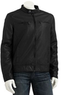 Marc Anthony Men's Faux-Leather Motorcycle Jacket