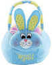 Personalized Plush Easter Baskets