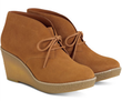 Cole Haan Women's Suede Halley Chukka Wedge Heels