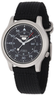 Seiko 5 Men's Automatic Watch with Black Canvas Strap